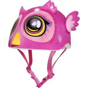Big Eyes Owl Miniz Infant – Dark Pink
