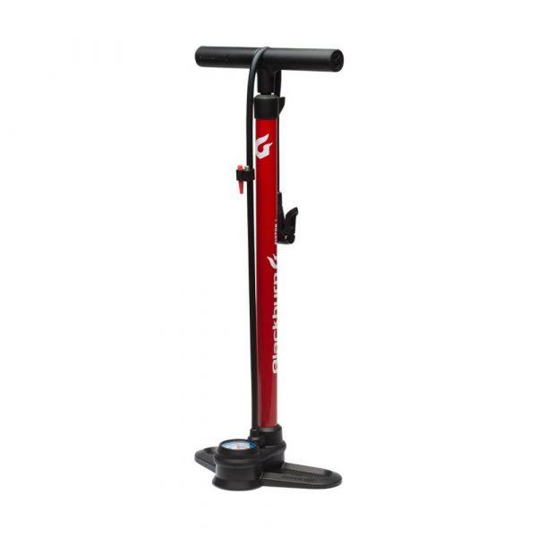 Piston-1-Bicycle-Floor-Pump-Red