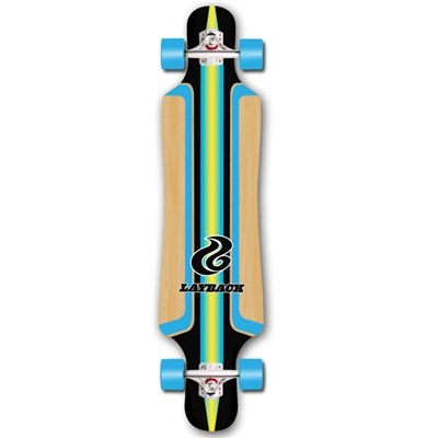 Layback-Skateboards-Finish-Line-Blue-Bamboo-Longboard-drop-thru