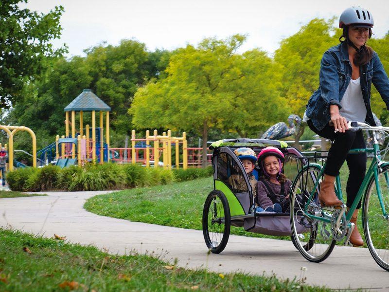copilot-model-a-child-bike-trailer-poster